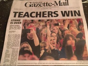 fin WV Teachers Win
