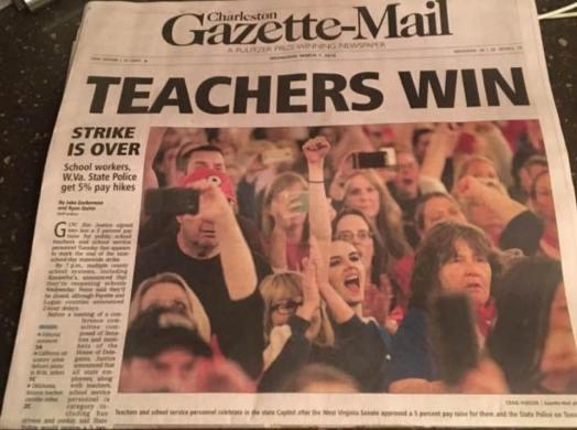 fin WV Teachers Win