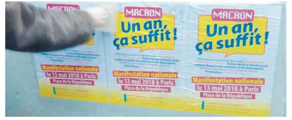 Macron un an ca suffit