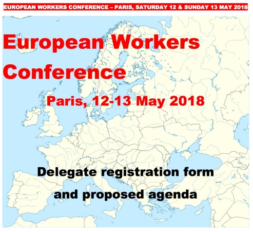 European Workers Conference Cover