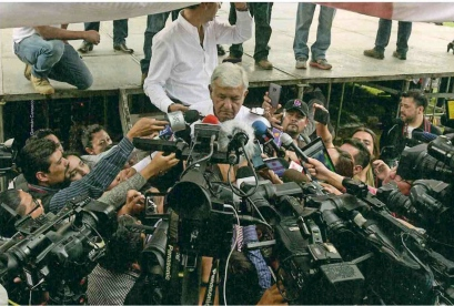 AMLO and mics