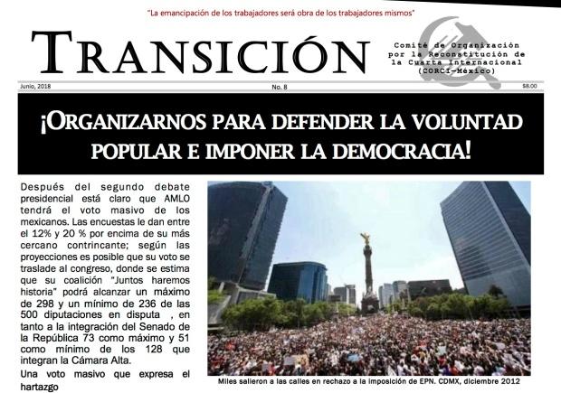 Cover Transición
