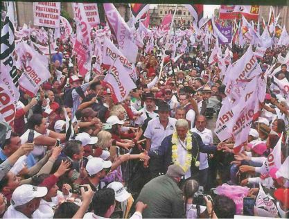 AMLO on campaign trail
