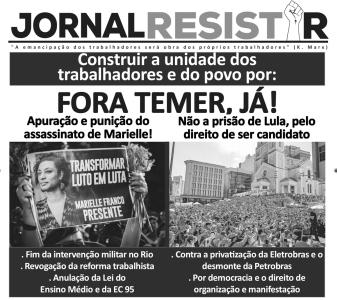 Cover Jornal Resistir