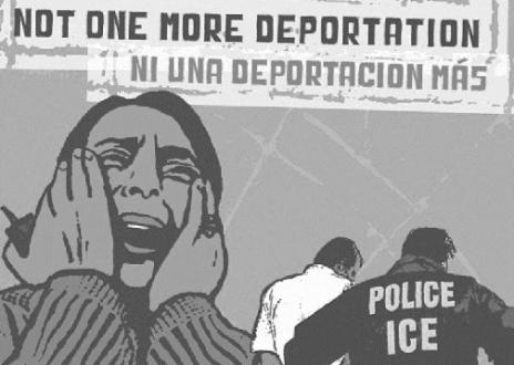 ni una deportacion mas