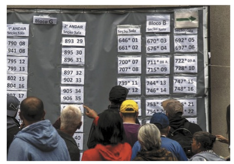 Brazil Vote Tallies