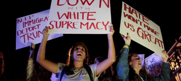 down with white supremacy