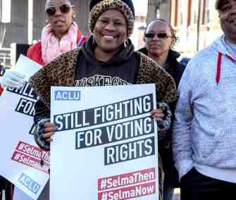still fighting for voting rights