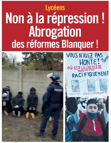 FR Youth repression