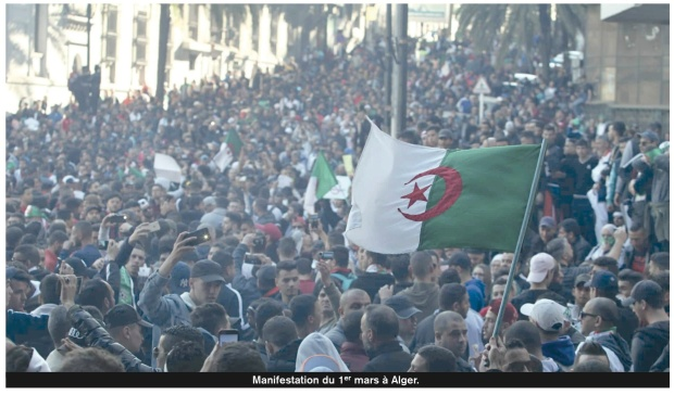 Algeroia March 1