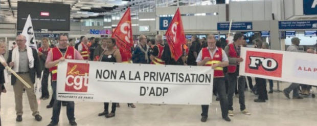 Non a privatisation d'ADP