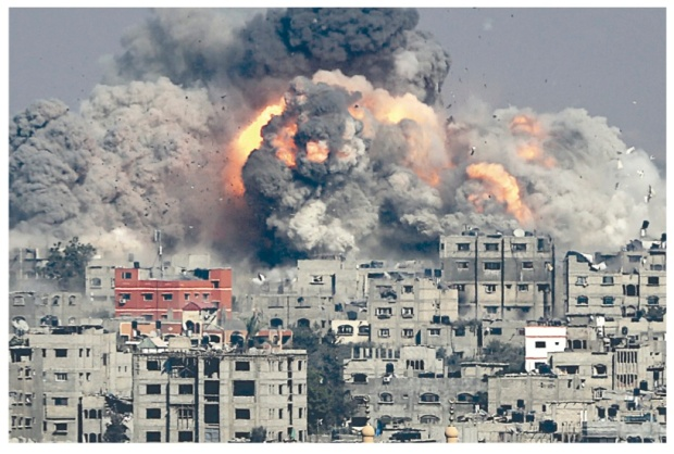 bombing of gaza