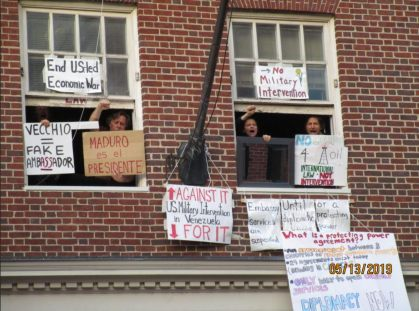 VNZ Embassy Occupiers