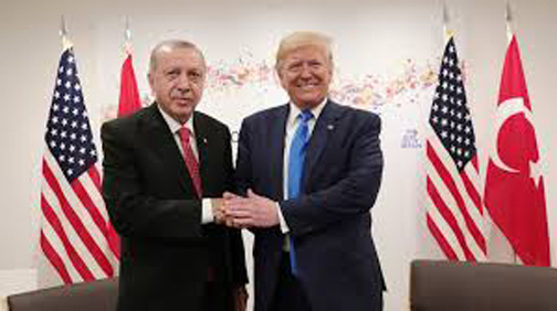 Kurds fin -- trump and erdogan