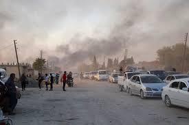 kurds under attack from Turkey
