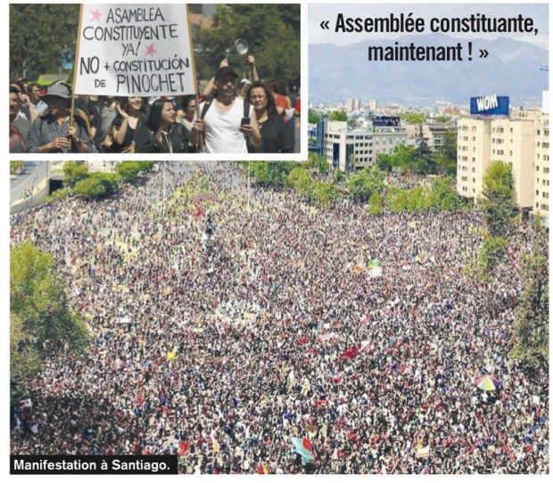 Chile mass march 2