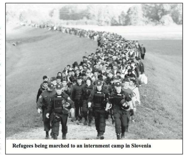 EU Slovenia refugees