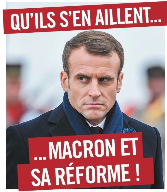 France dehors macron et sa reforme