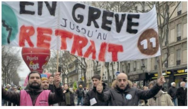 France en greve