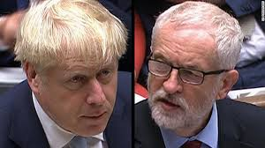 Johnson and corbyn