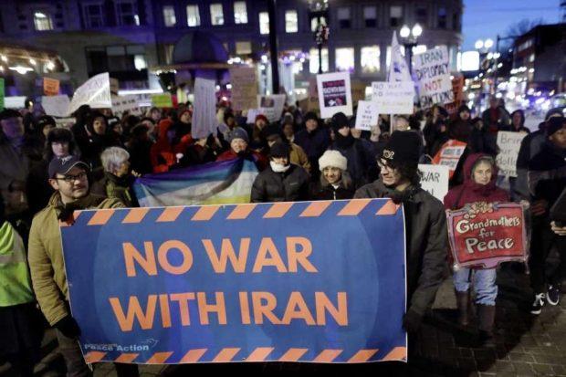 JAN 25 NO US War on Iran