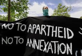 no to apartheid